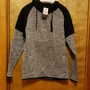 South Pole Hooded 2 Toned Pullover New Size M